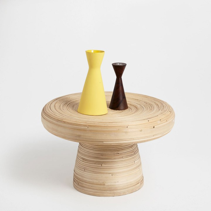 Bamboo Side Table by Zara Home