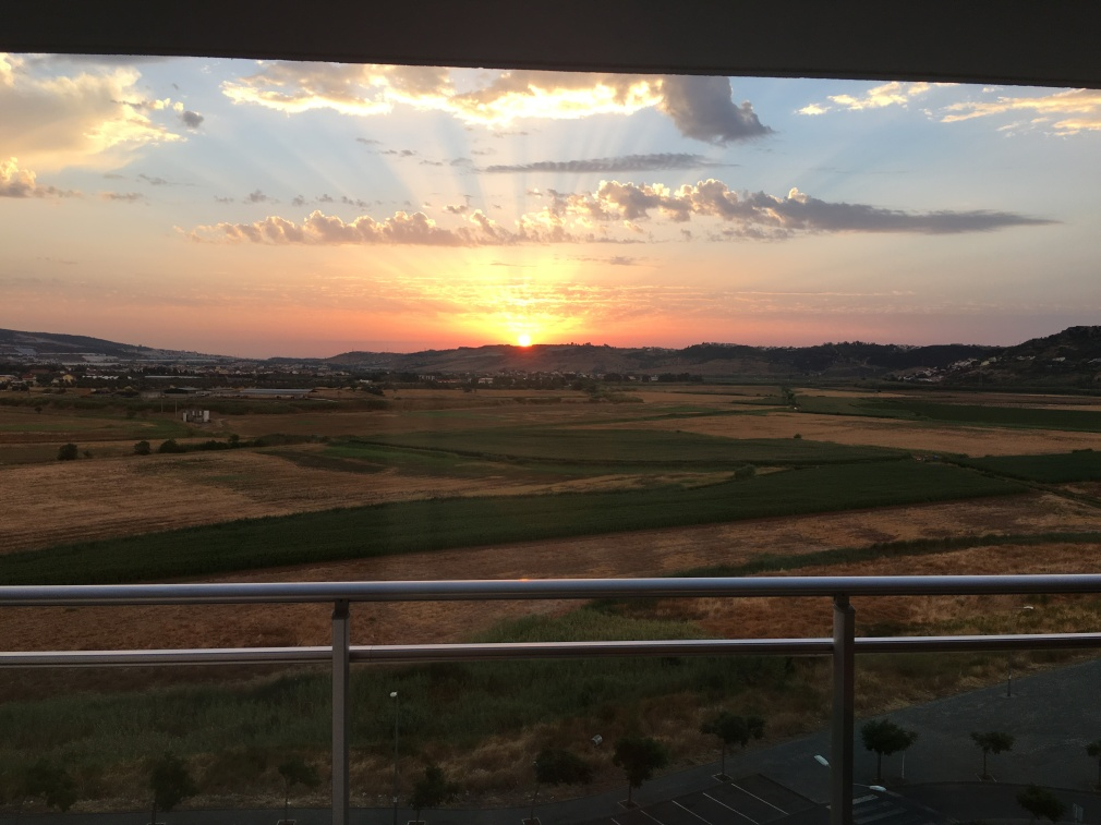 Sunrise view from my balcony | My Home With a View