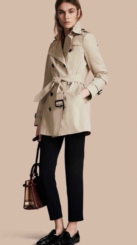 The Sandringham – Short Heritage Trench Coat by Burberry
