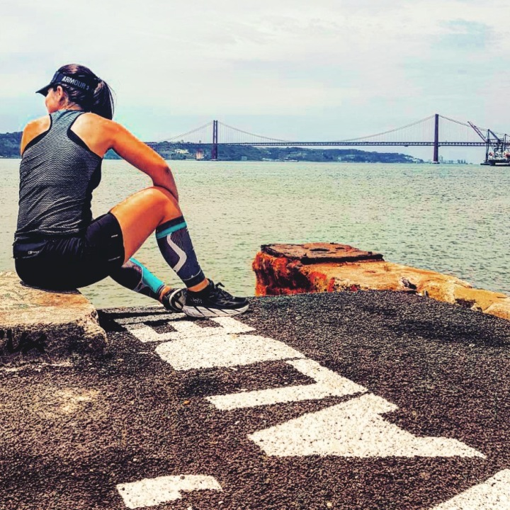 Running in Lisbon - By the river, Cais do Sodré