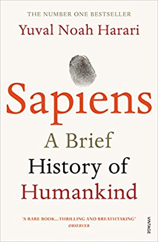 My Home With a View Reading List: Sapien, A Brief History of Humankind, Yuval Noah Harari