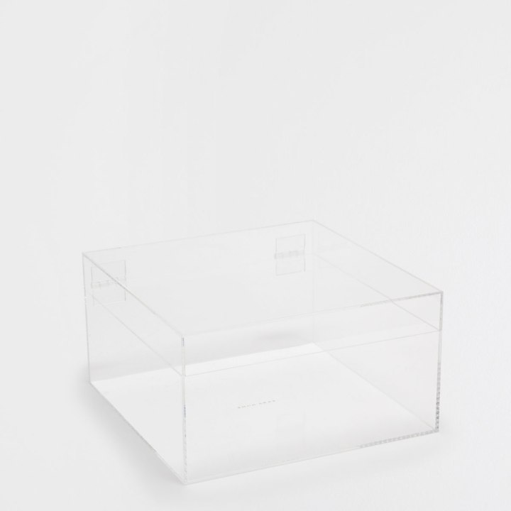 Transparent squared box by Zara Home